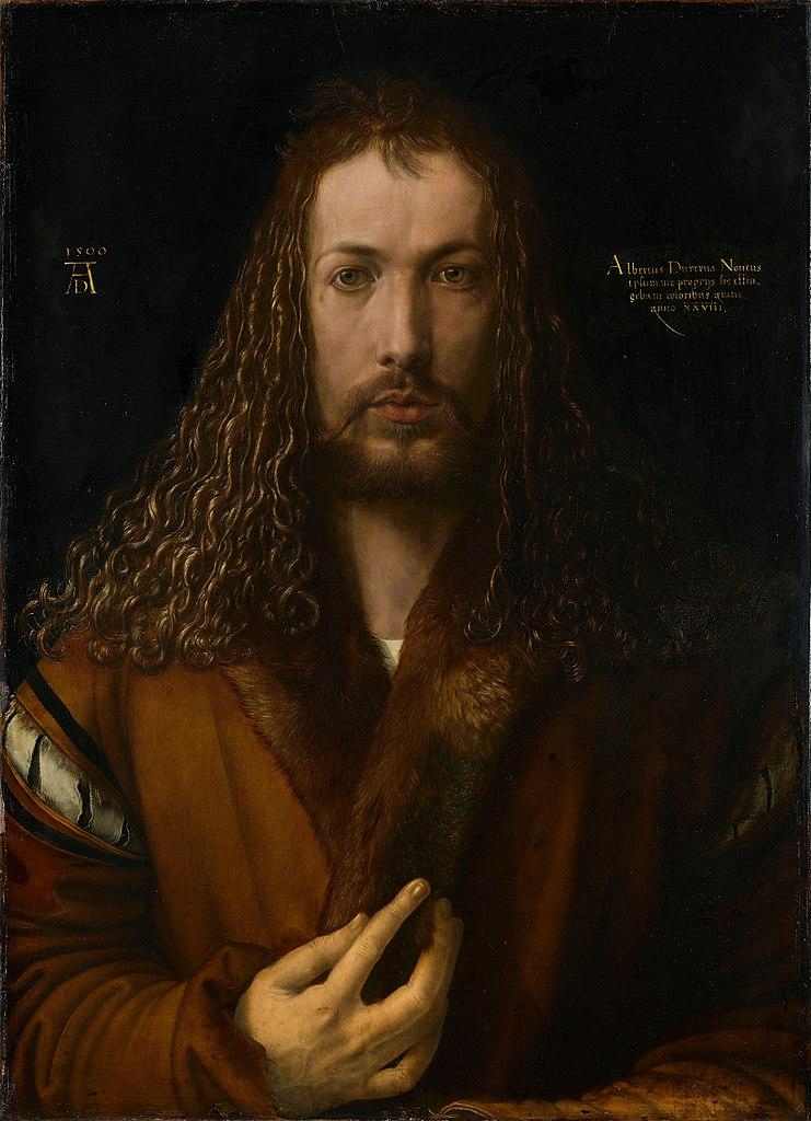 Albrecht Durer: Self portrait at 28