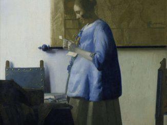 Johannes Vermeer: Woman Reading a Letter