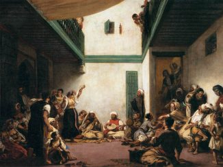 Eugène Delacroix: Jewish Wedding in Morocco