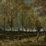 Vincent Van Gogh: Lane with Poplars