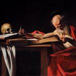 Caravaggio: Saint Jerome Writing