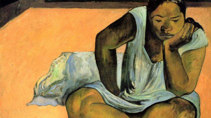 Paul Gauguin: The Brooding Woman