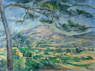 Paul Cezanne: Mont Sainte-Victoire with a Large Pine