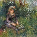 Pierre-Auguste Renoir: Madame Renoir with a Dog