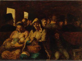 Honoré Daumier: The Third Class Wagon