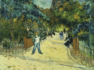 Vincent Van Gogh: Entrance to the Public Park in Arles