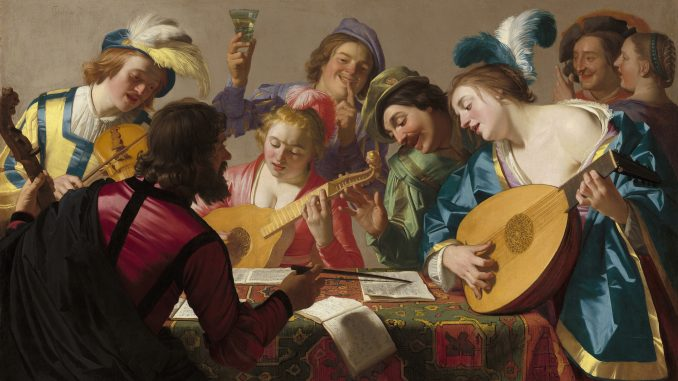 Gerard van Honthorst: The Concert