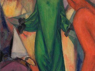 Albert Bloch: The Green Domino