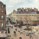 Camille Pissarro: Rue Saint-Honoré
