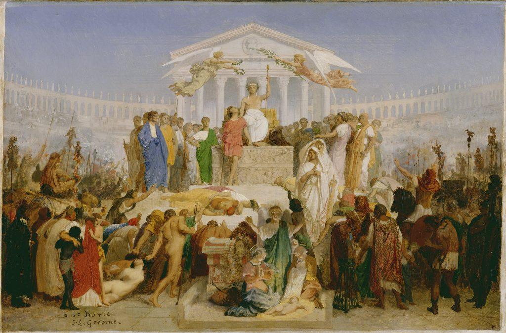Jean-Léon Gérôme: The Age of Augustus, The Birth of Christ