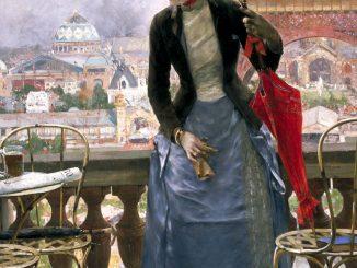 Luis Jiménez Aranda: Lady at the Paris Exposition