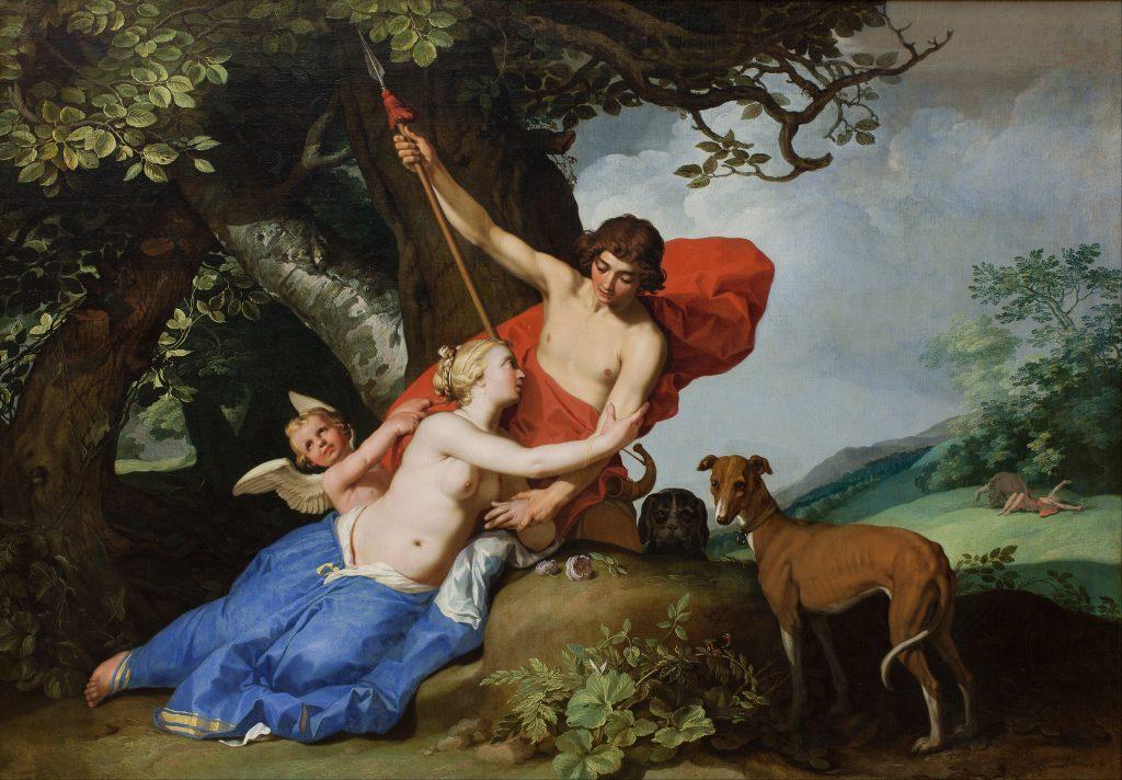 Abraham Bloemaert: Venus and Adonis