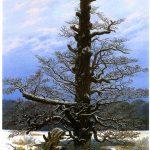 Caspar David Friedrich: The Oak Tree in the Snow