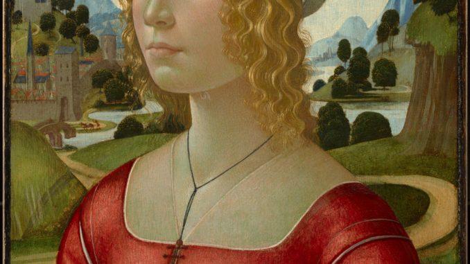 Domenico Ghirlandaio: Portrait of a Lady