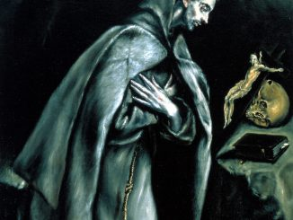 El Greco: Saint Francis Kneeling in Meditation