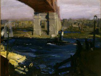 George Bellows: The Bridge, Blackwell's Island