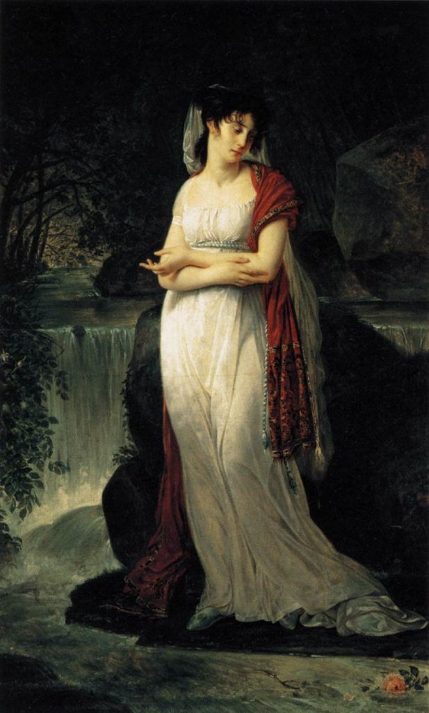 Antoine-Jean Gros: Portrait of Christine Boyer