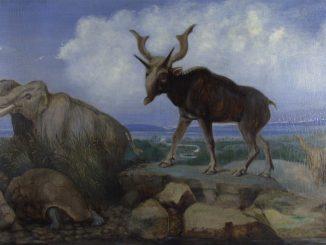 Benjamin Waterhouse Hawkins: Pleistocene Fauna of Asia