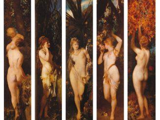 Hans Makart: The Five Senses
