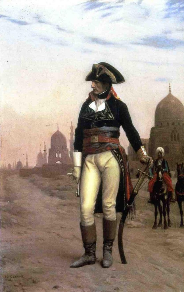 Jean-Léon Gérôme: Napoleon in Egypt