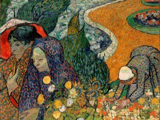 Vincent van Gogh: Memory of the Garden at Etten (Ladies of Arles)