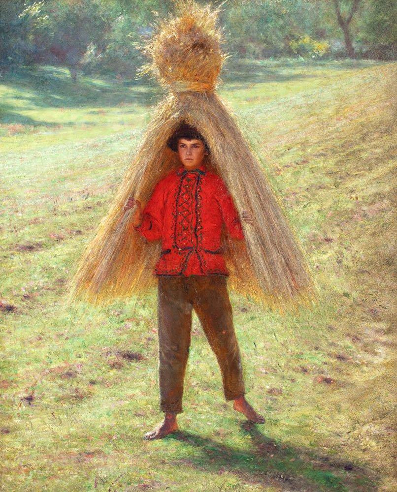Aleksander Gierymski: Boy Carrying a Shaft