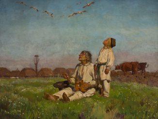 Jósef Chelmonskí: Storks