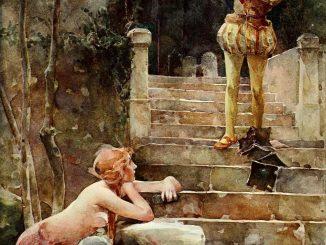 John Reinhard Weguelin: The Mermaid of Zennor