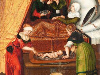 Lucas Cranach the Elder: The Birth of John the Baptist