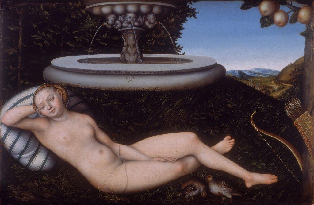 Lucas Cranach the Elder: The Nymph of the Fountain