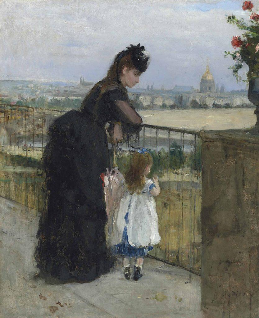 Berthe Morisot: On the Balcony