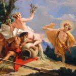 Giovanni Battista Tiepolo: Apollo Pursuing Daphne