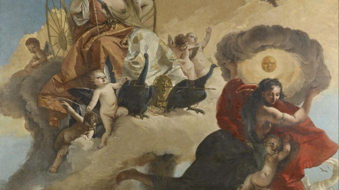 Giovanni Battista Tiepolo: Juno and Luna