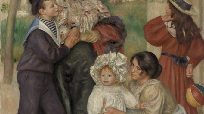 Pierre-Auguste Renoir: The Artist's Family