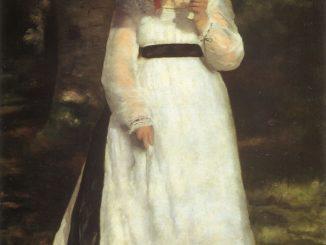 Lise with Umbrella- Pierre-Auguste Renoir