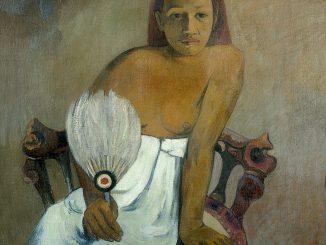 Paul Gauguin: Young Girl with Fan