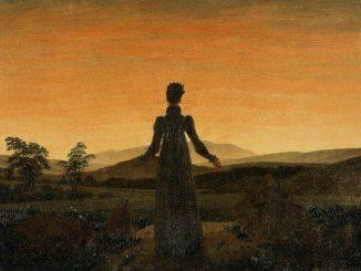Woman Before the Setting Sun: Caspar David Friedrich