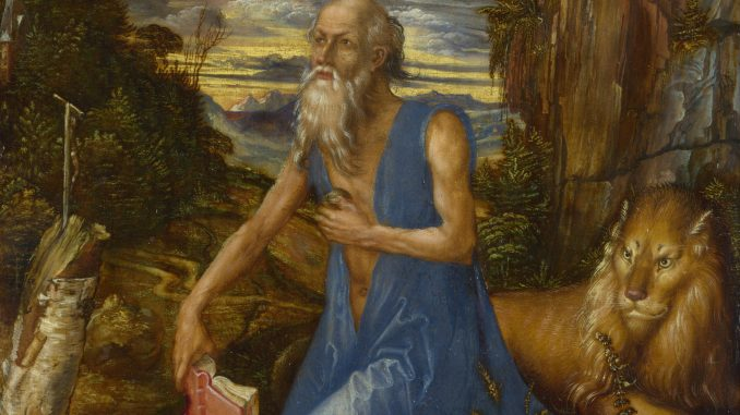 Albrecht Dürer: St. Jerome in the Wilderness