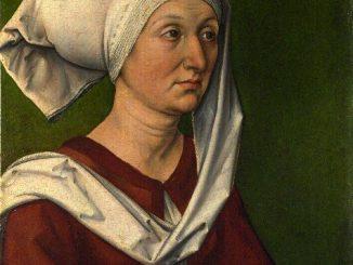 Albrecht Dürer: Portrait of Dürer's Mother Barbara