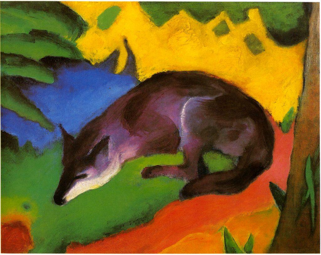 Franz Marc: Fox