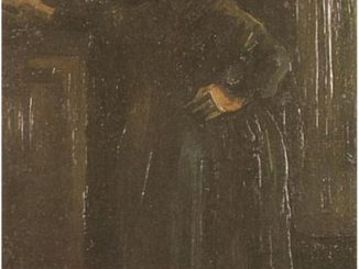 Vincent van Gogh: Peasant Woman Standing Indoors