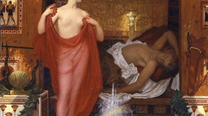 William Blake Richmond: Hera in the House of Hephaistos
