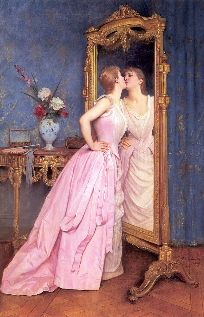 Auguste Toulmouche: Vanity